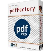 PdfFactory Pro Crack 7.44 Plus Serial Key [Latest 2021]Free Download